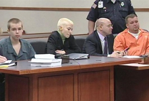 Josh Young (far left) could receive a joint trial with his accuser, Josh Gouker (far right)